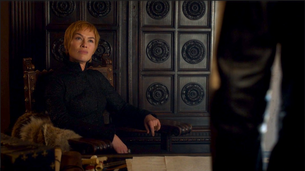 Cersei in GOT 7x05 - Eastwatch