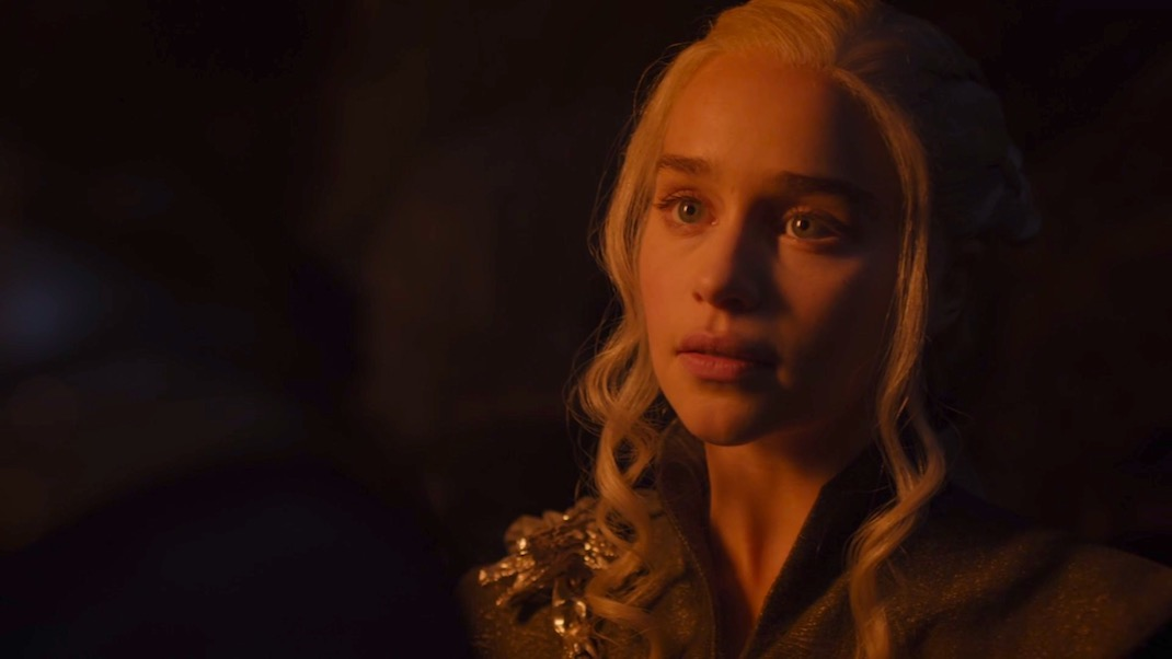 Dany in GOT 7x04 - The Spoils of War