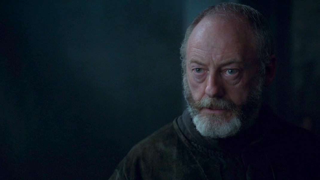 Davos Seaworth (Liam Cunningham) in GAME OF THRONES 7x03 - The Queen's Justice