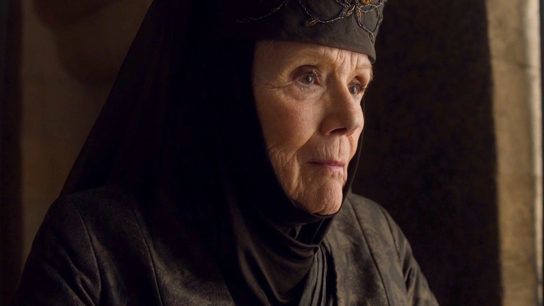 Diana Rigg in GAME OF THRONES 7x03 - The Queen's Justice
