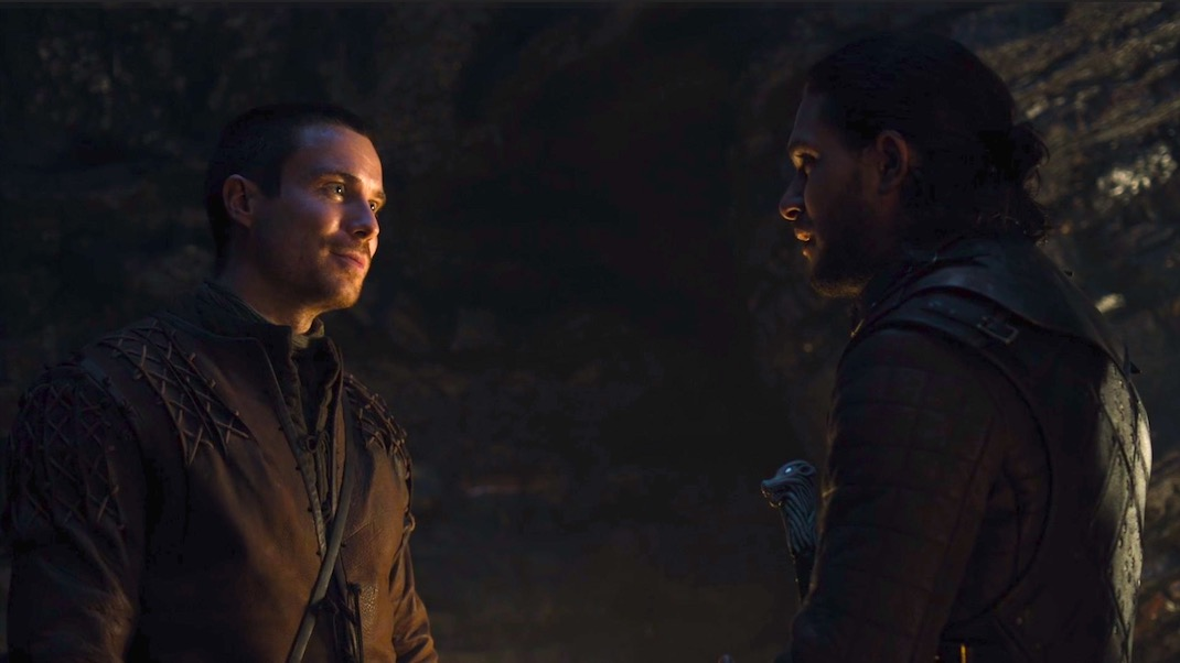 Gendry and Jon Snow in GOT 7x05 - Eastwatch