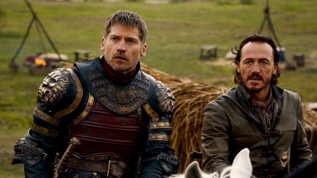 Jaime and Bronn in GOT 7x04 - The Spoils of War