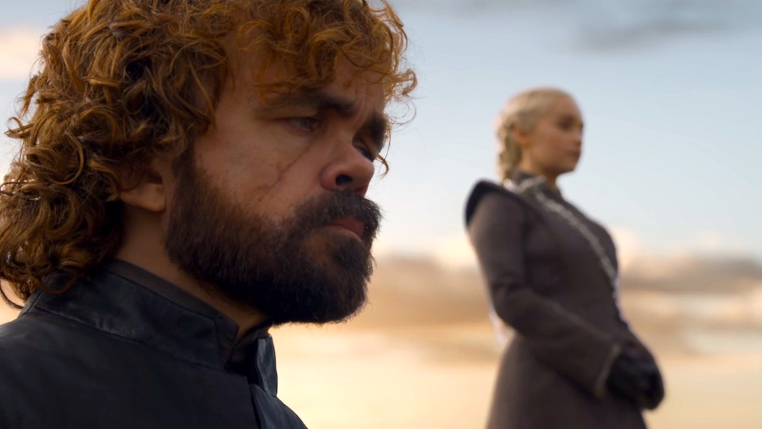 Tyrion and Dany in GOT 7x05 - Eastwatch