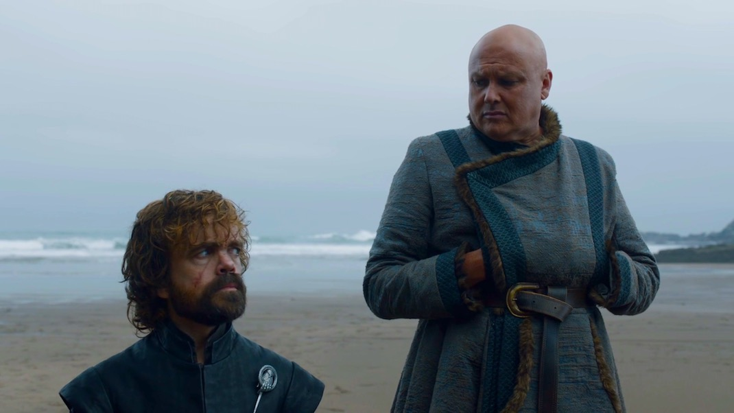 Tyrion and Varys in GOT 7x04 - The Spoils of War