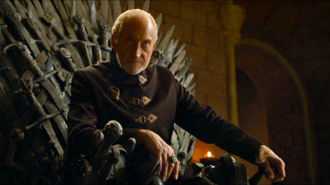 Tywin Lannister in GOT 4x06 - The Laws of Gods and Men