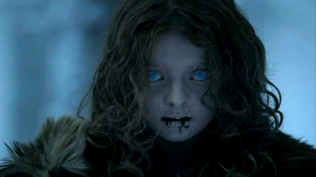 Wight Child in GOT 1x01 - Winter is Coming