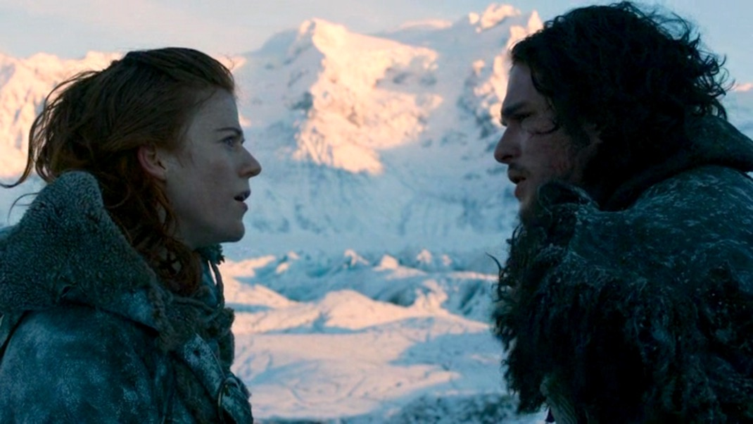 Ygritte and Jon in GOT 2x07 - A Man Without Honor