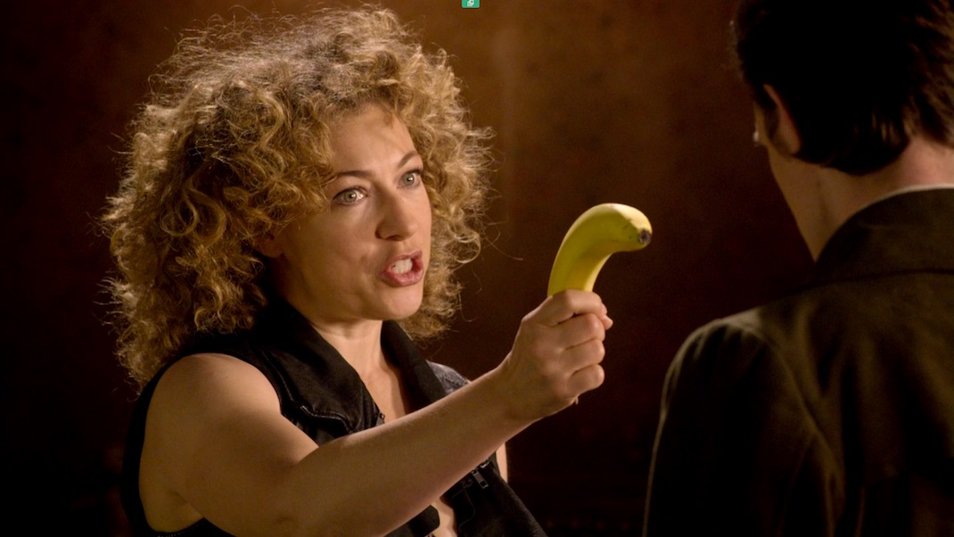 Alex Kingston in Doctor Who 6x08 - Let's Kill Hitler