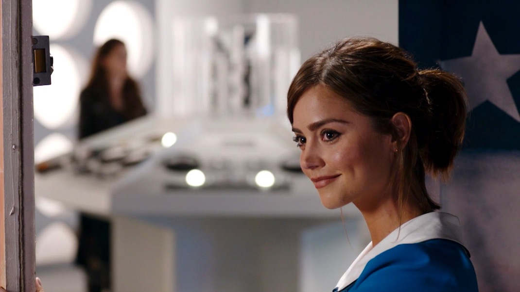 Jenna Coleman in Doctor Who 9x12 - Hell Bent