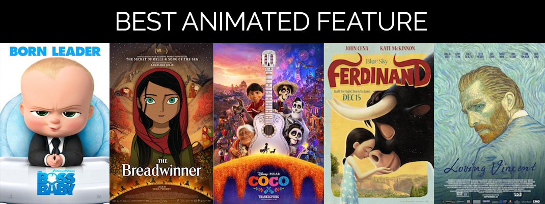 2018 Oscars: Animated Feature