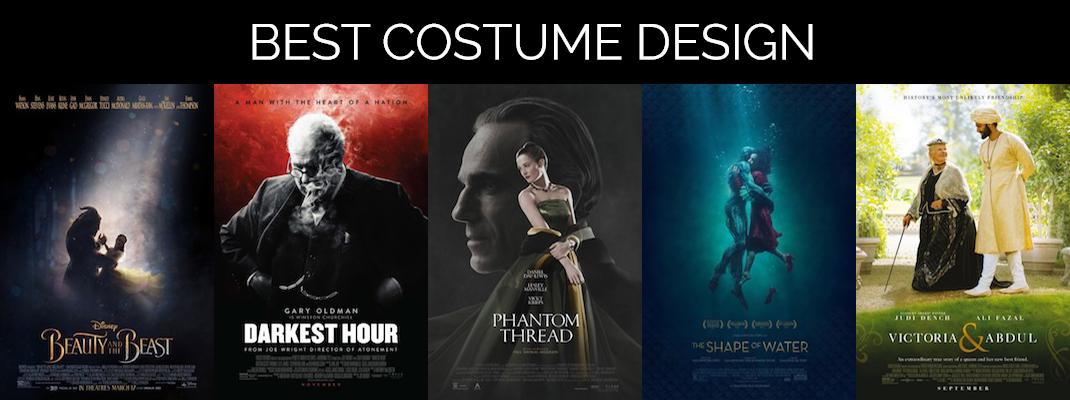 2018 Oscars: Costumes