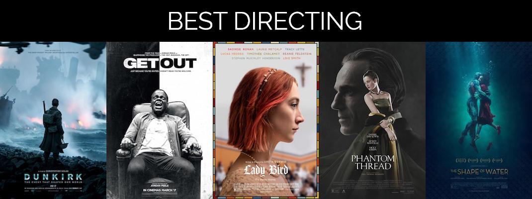 2018 Oscars: Directing