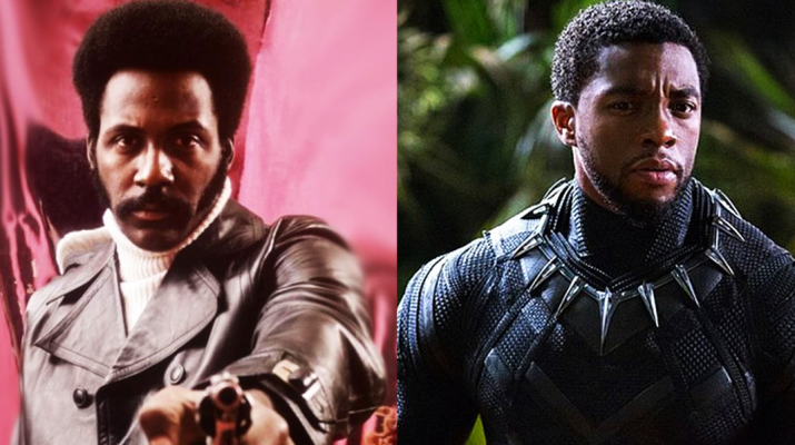 black panther and shaft