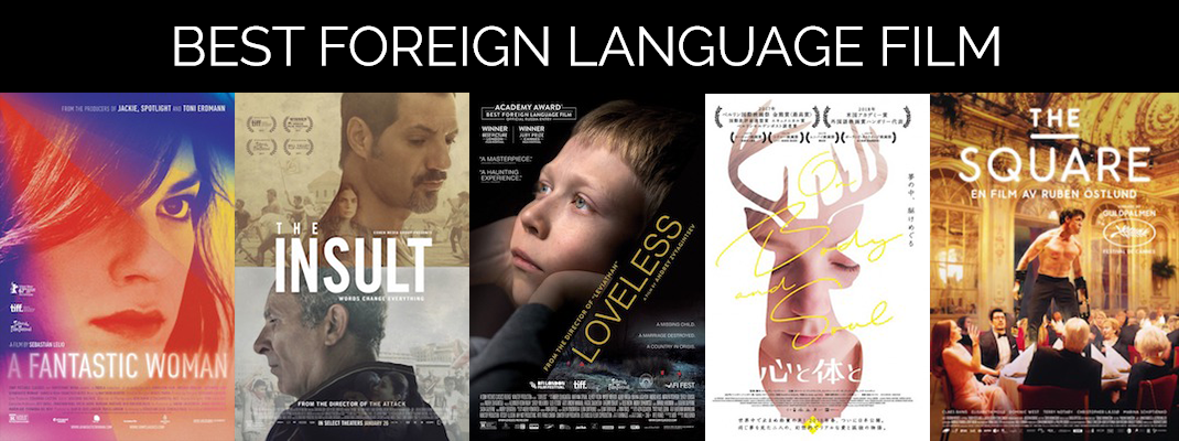 2018 Oscars: Foreign Language
