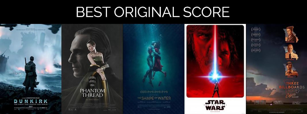 2018 Oscars: Score