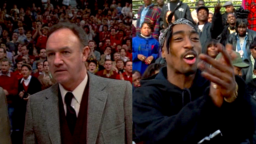 HOOSIERS (1986) & ABOVE THE RIM (1994)