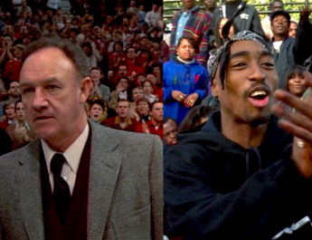 hoosiers and above the rim