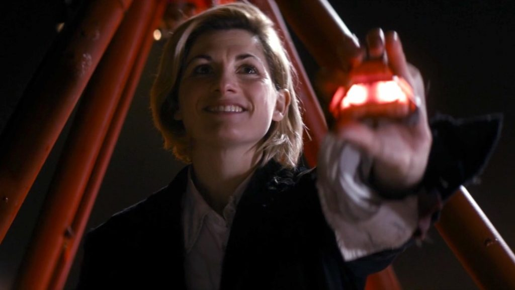 Jodie Whittaker in The Woman Who Fell to Earth