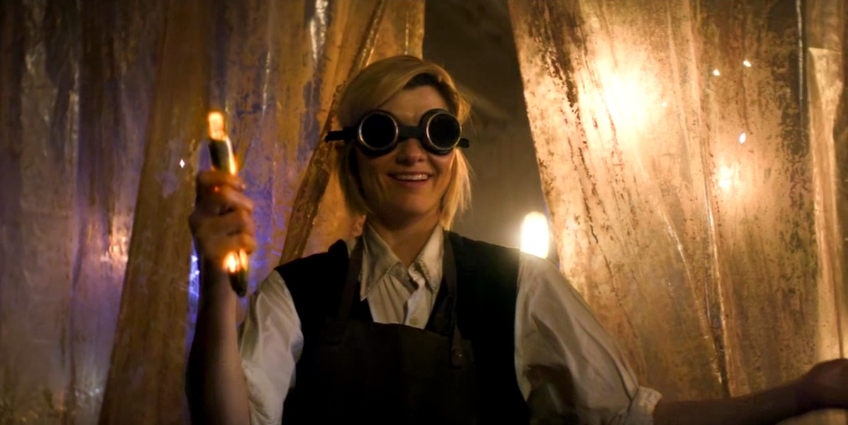 Jodie Whittaker in Doctor Who 11x01