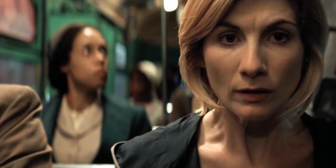 The Doctor (Jodie Whittaker) and Rosa (Vinette Robinson) in Rosa