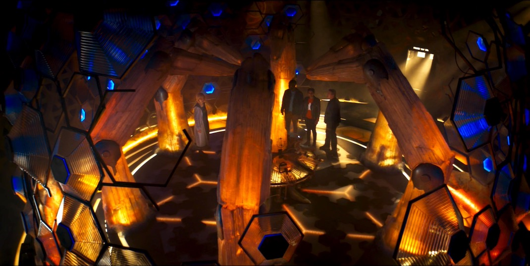 The TARDIS Interior, in The Ghost Monument
