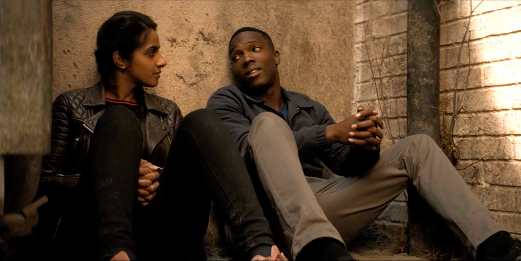 "Mandip Gill and Tosin Cole in ""Rosa"""