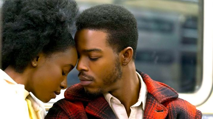 KiKi Layne and Stephan James in If Beale Street Could Talk