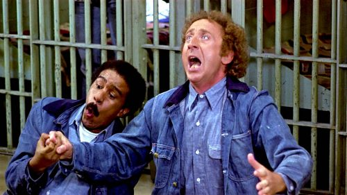 Richard Pryor and Gene Wilder in STIR CRAZY