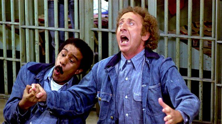Richard Pryor and Gene Wilder in STIR CRAZY