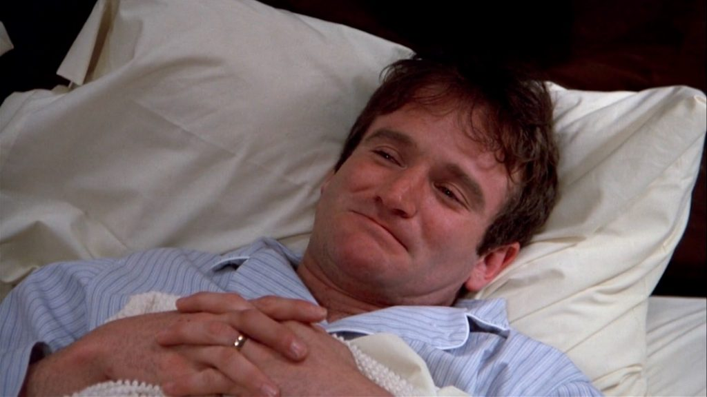 Robin Williams in THE WORLD ACCORDING TO GARP (1982)