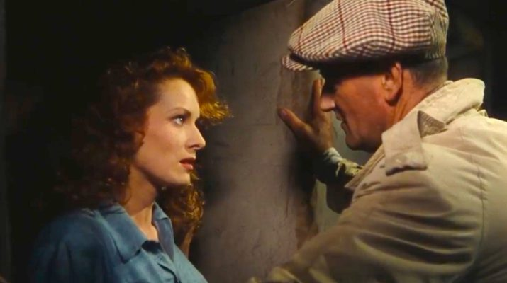 Maureen O'Hara and John Wayne in THE QUIET MAN