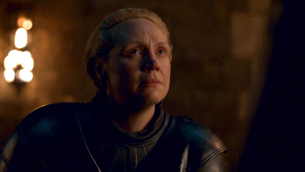 Ser Brienne of Tarth in GoT 8x02 - A Knight of the Seven Kingdoms
