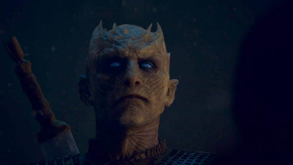 The Night King in GAME OF THRONES 8x03 - THE LONG NIGHT