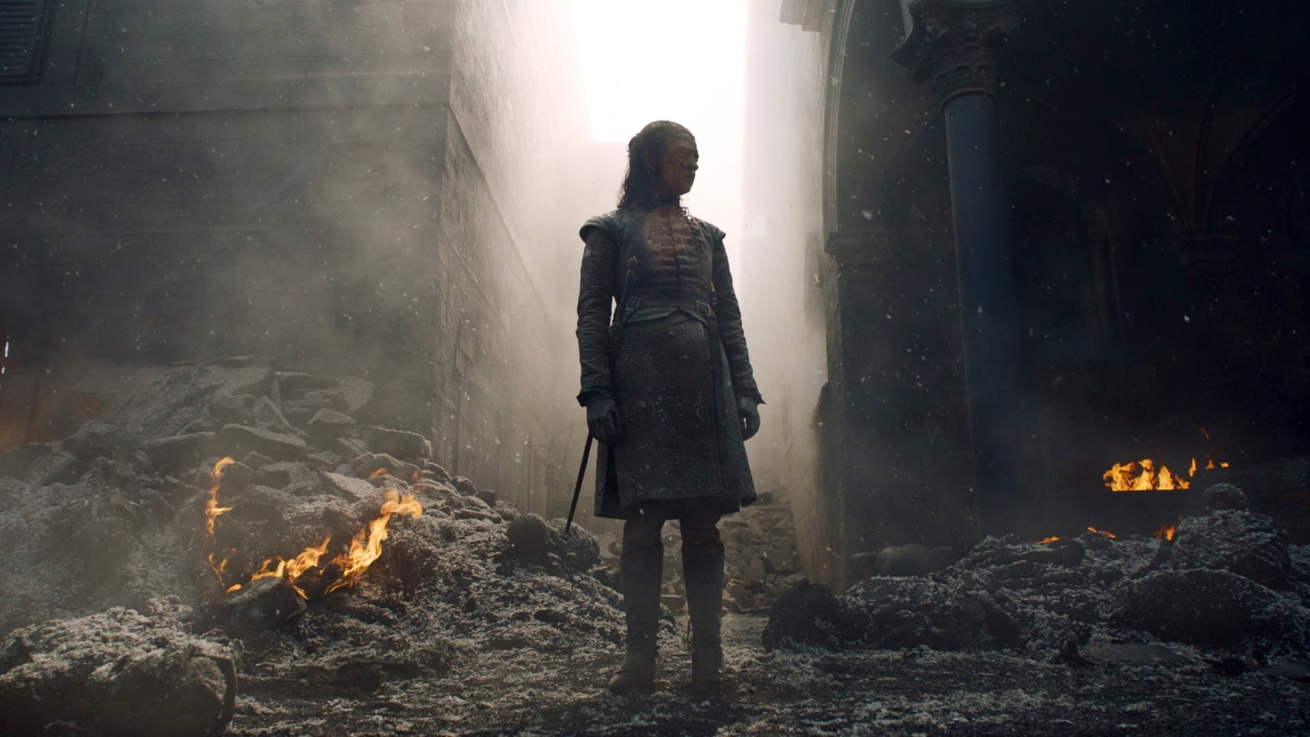Arya Stark in Game of Thrones 8x05 - The Bells