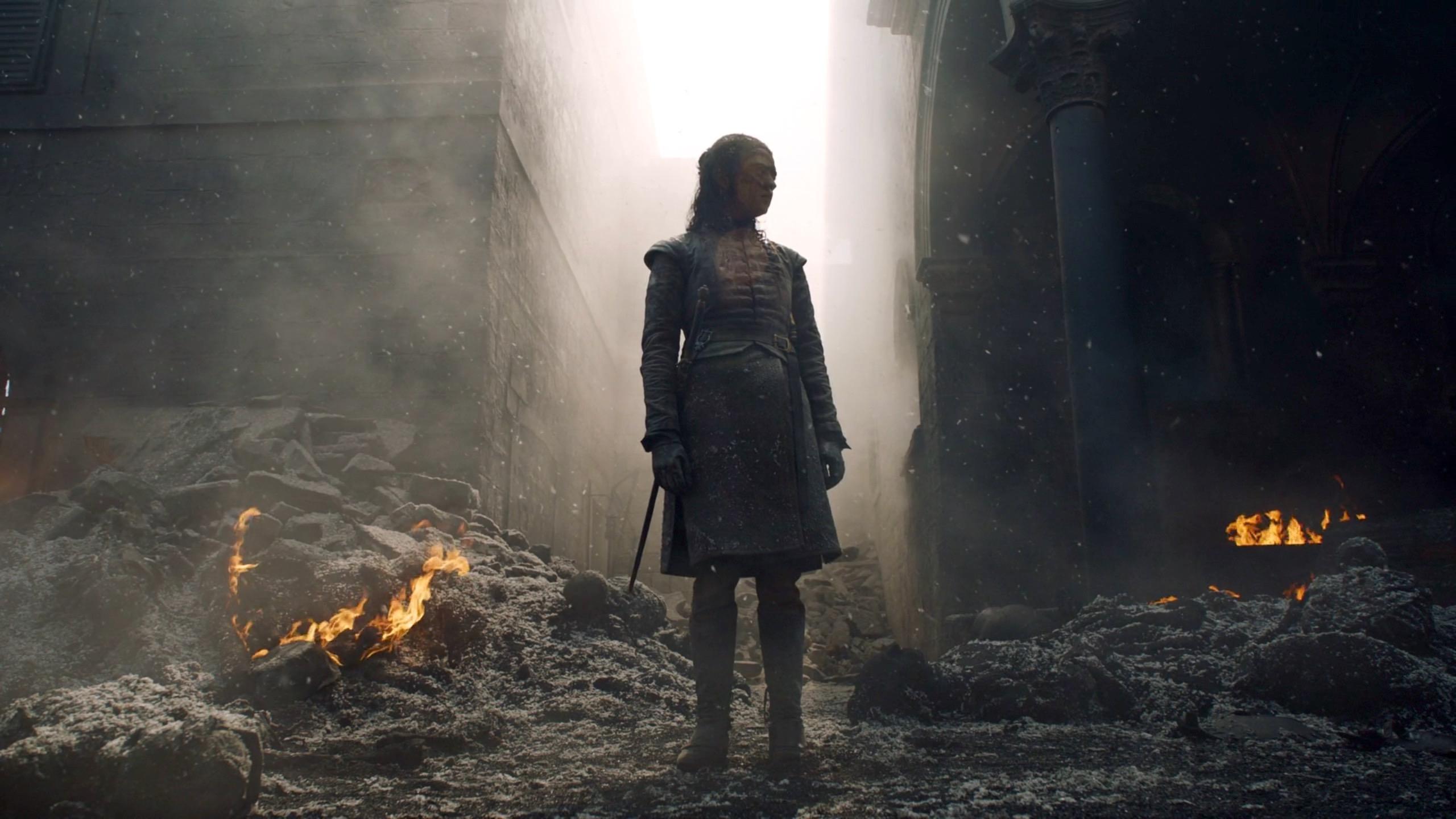 Arya Stark in Game of Thrones 8x05 - The Bells