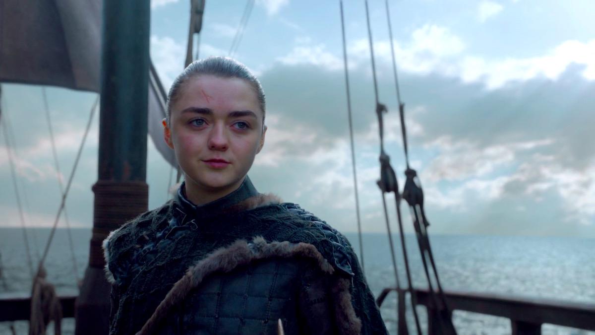 Arya Stark in GoT 8x06 - The Iron Throne