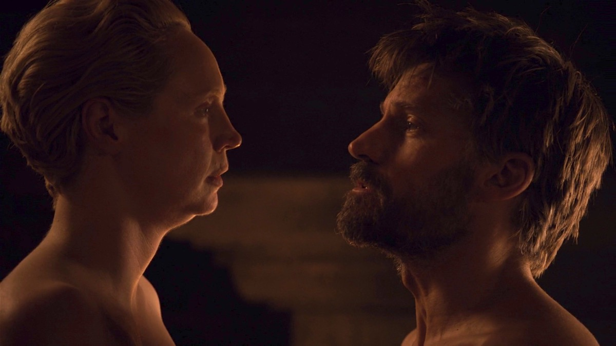 Brienne and Jaime in GoT 8x04 - The Last of the Starks
