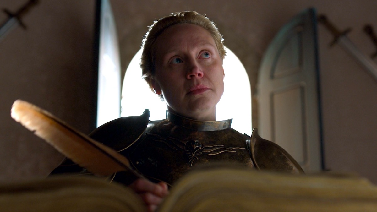 Brienne in GoT 8x06 - The Iron Throne