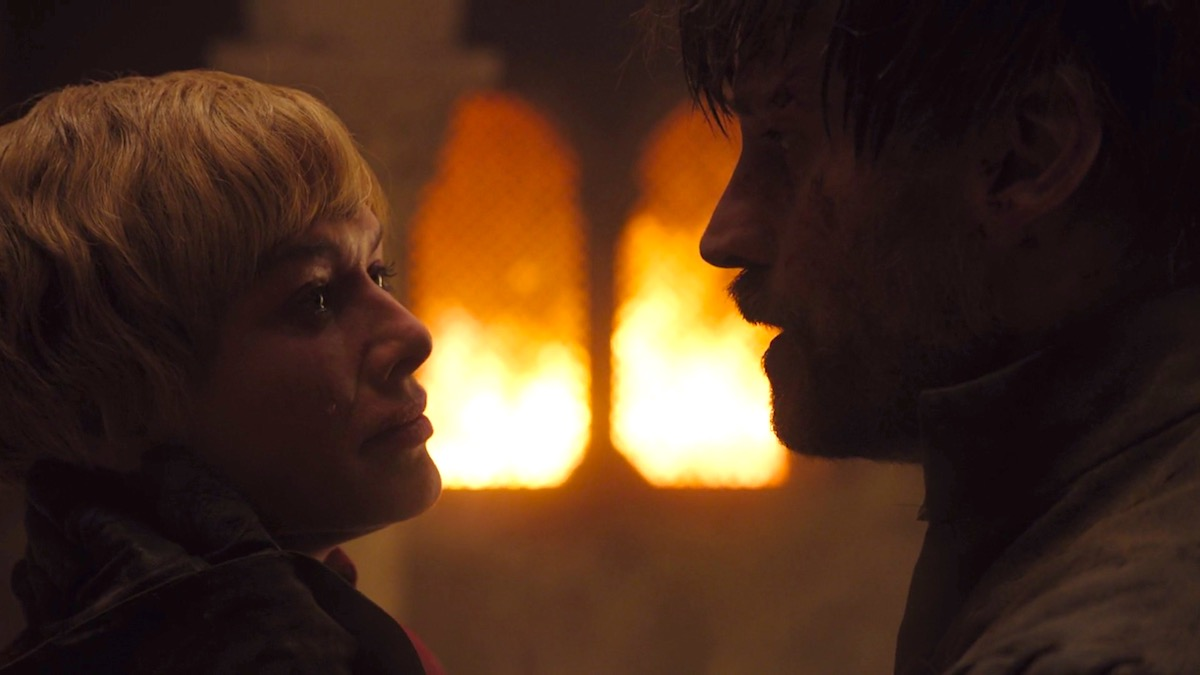Cersei and Jaime in GoT 8x05 - The Bells