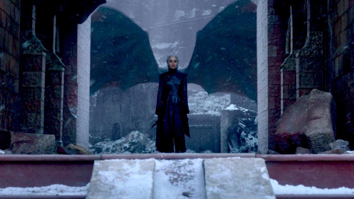Daenerys in GoT 8x06 - The Iron Throne