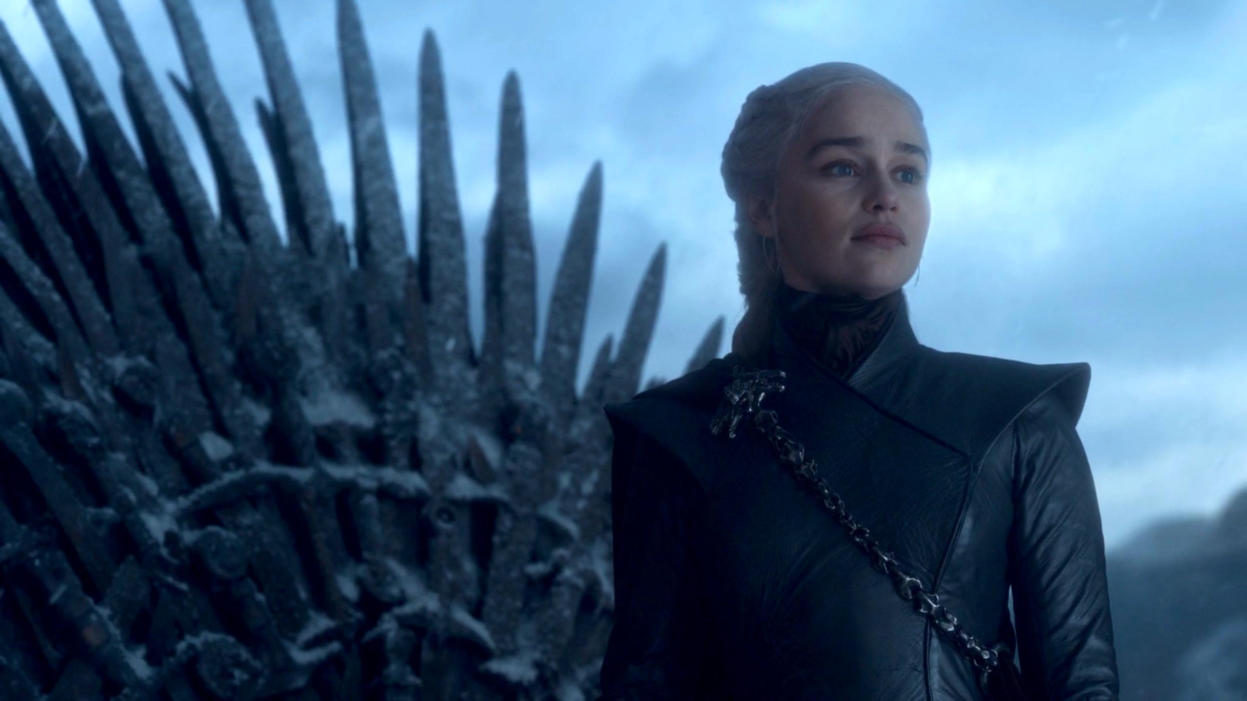 Daenerys Targaryen in GoT 8x06 - The Iron Throne
