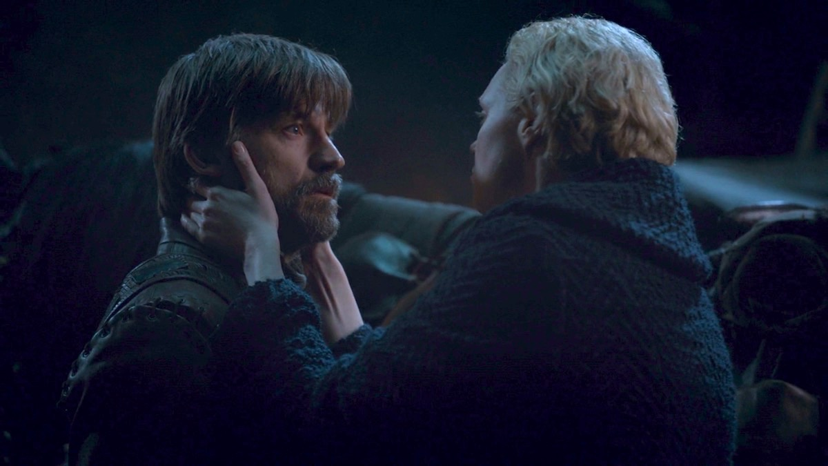 Jaime and Brienne in GoT 8x04 - The Last of the Starks