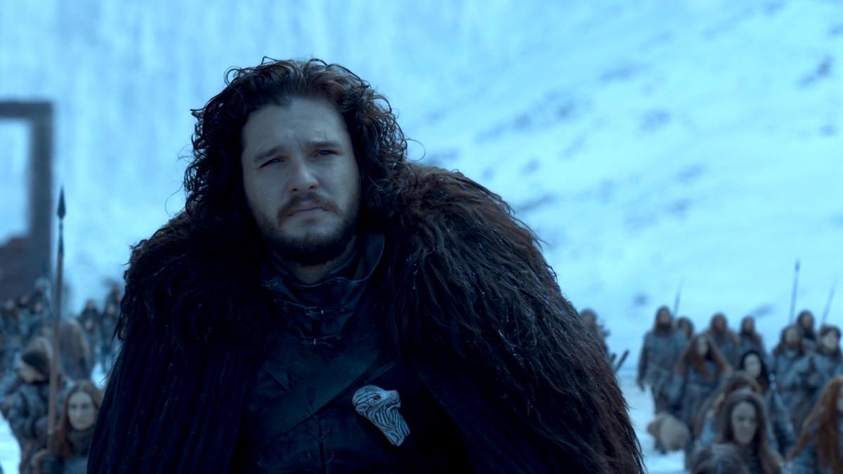 Jon Snow in Game of Thrones 8x06 - The Iron Throne