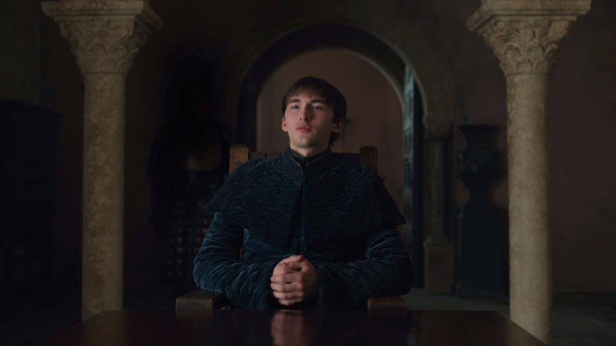 King Bran the Broken in GoT 8x06 - The Iron Throne