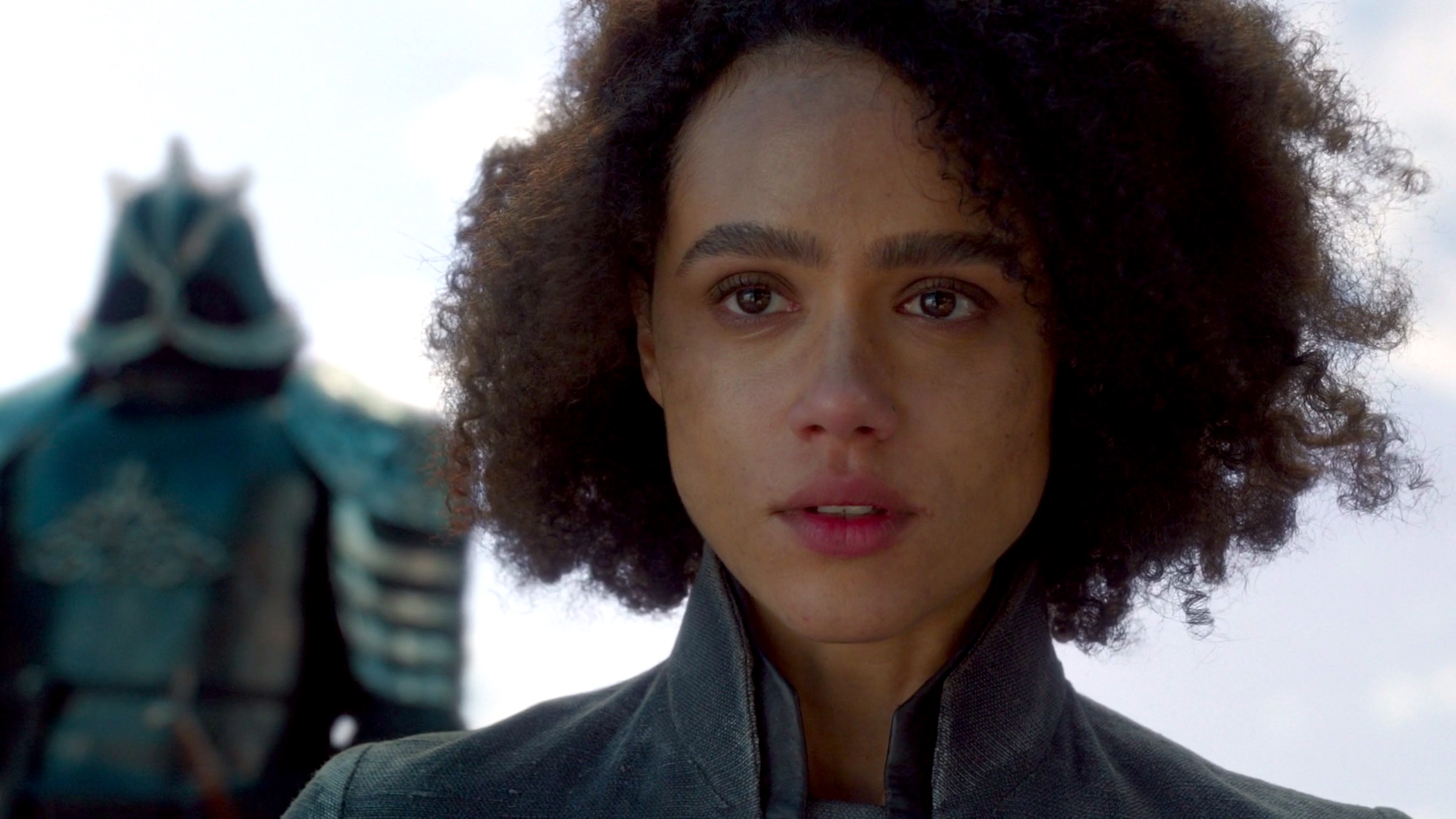 Missandei in GAME OF THRONES 8x04 - The Last of the Starks