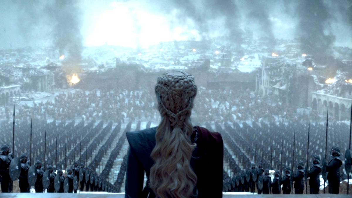 Queen Daenerys Targaryen in GoT 8x06 - The Iron Throne