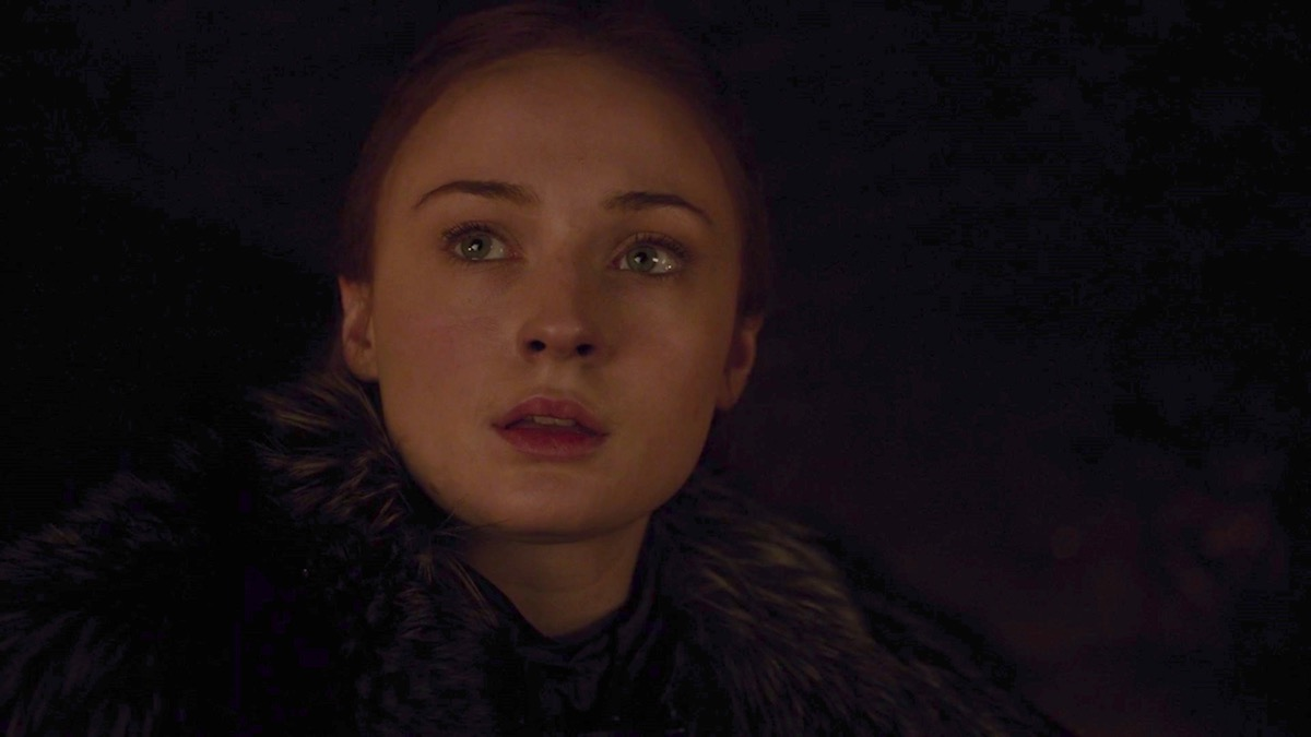 Sansa Stark in GoT 8x03 - The Long Night