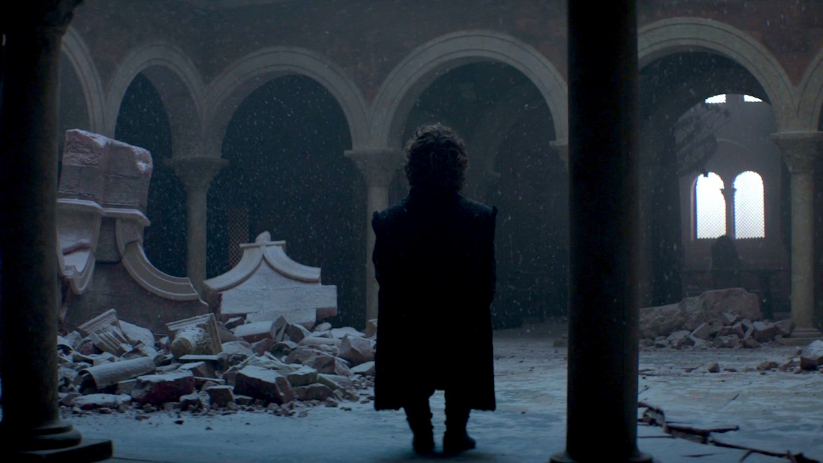 Tyrion Lannister in GoT 8x06 - The Iron Throne