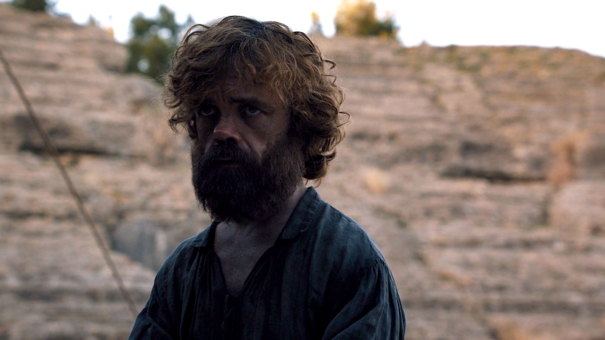 Tyrion in GoT 8x06 - The Iron Throne