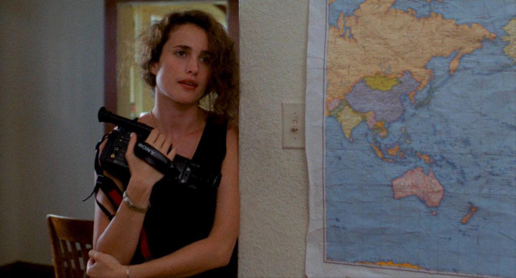Andie MacDowell in sex, lies, and videotape